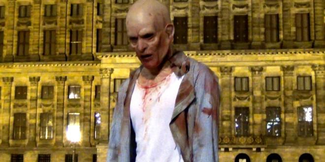 Amsterdam Zombie Prank