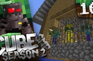 Minecraft Cube SMP S2 Episode 16: Zombie Siege Prank