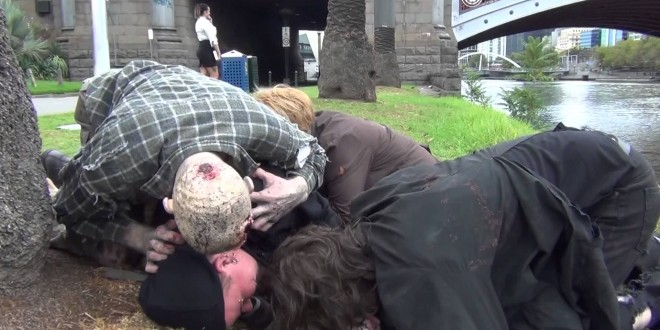 Zombie Attack April Fools Prank 2013