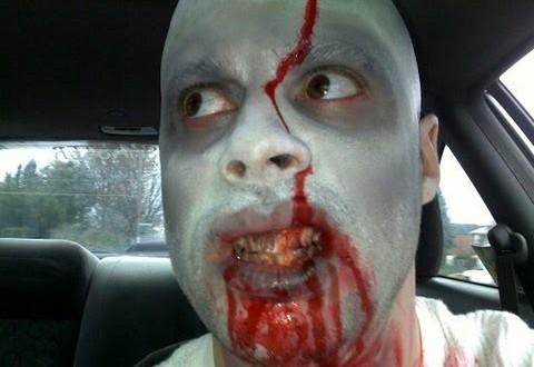 Zombie Drive-Thru Prank